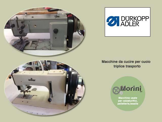 Macchine da cucire revisionate ce adler morini for Macchine da cucire usate